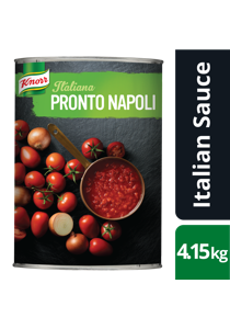 KNORR Italiana Pronto Napoli GF 4.15 kg - Harvested from Italian fields to cans in under 24 hours.