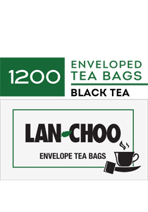 LAN-CHOO envelope cup bags 1200's - LAN-CHOO offers the affordable one-step tea preparation for urns and single cups.