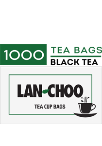 LAN-CHOO Tea Cup Bags 1000's - LAN-CHOO offers the affordable one-step tea preparation for urns and single cups.