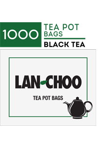LAN-CHOO Tea Pot Bags 1000's