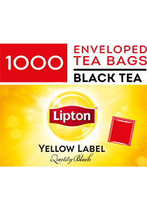 LIPTON Envelope Tea Cup Bags 1000's - Tea time is the most important time of their day.