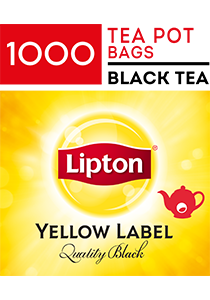 LIPTON Quality Black Tea Pot Bags 1000's