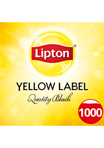 LIPTON Quality Black Tea Pot Bags 1000's - LIPTON will keep your residents happy every tea time.