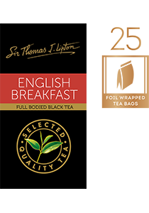LIPTON STL English Breakfast 25's