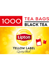 LIPTON Tea Cup Bags 1000's - LIPTON will keep your residents happy every tea time.