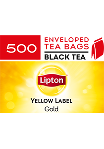 LIPTON Yellow Label Gold Envelope Cup Bags 500's