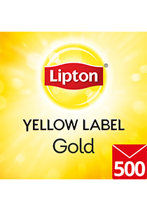 LIPTON Yellow Label Gold Envelope Cup Bags 500's - Having a cup of LIPTON can keep your colleagues uplifted and happy.
