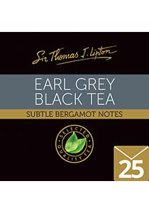 SIR THOMAS LIPTON Earl Grey 25's - Individually sealed for a premium and fresher tea.