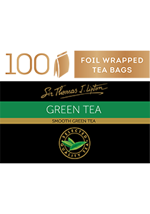 SIR THOMAS LIPTON  Green Tea 100's - Individually sealed for a premium and fresher tea.