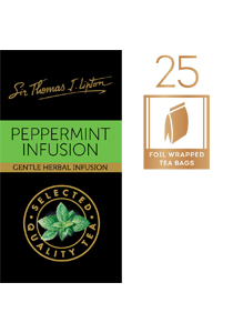 SIR THOMAS LIPTON Peppermint Envelope Tea 25's