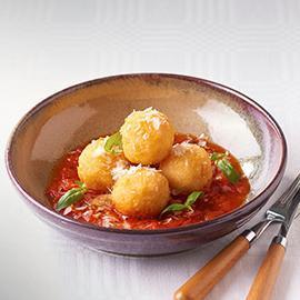 Arancini Balls, Tomato Relish