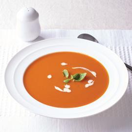 Rich & Creamy Tomato & Basil Soup