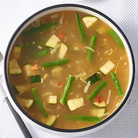 Seasonal Spring Vegetable Soup