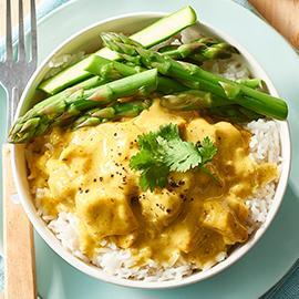 Turmeric Coconut Chicken Curry