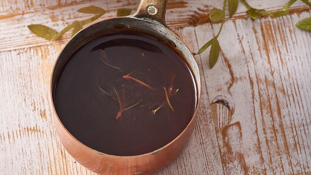 Balsamic, Rosemary Jus – Recipe