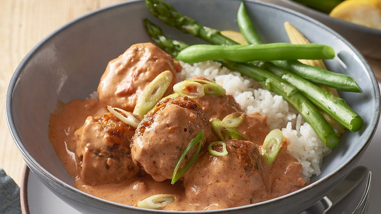 Butter Chicken Meatballs – Recipe