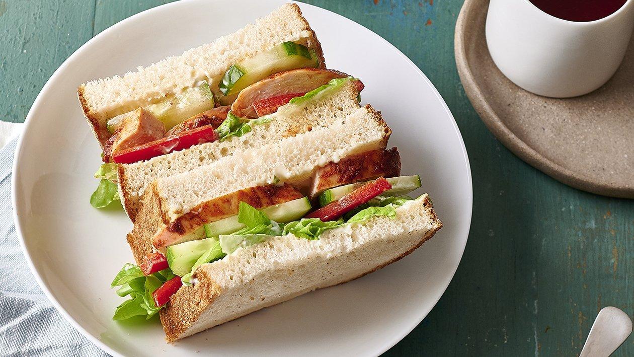 Butter Chicken Sandwich – Recipe