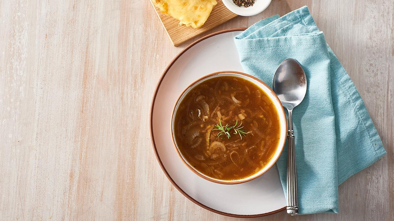 Caramelised French Onion Soup – Recipe
