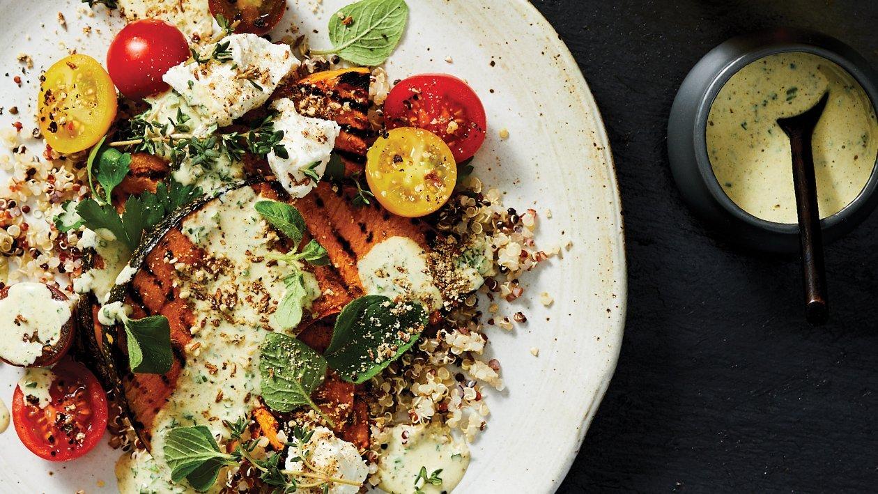 Char Pumpkin Salad – Recipe