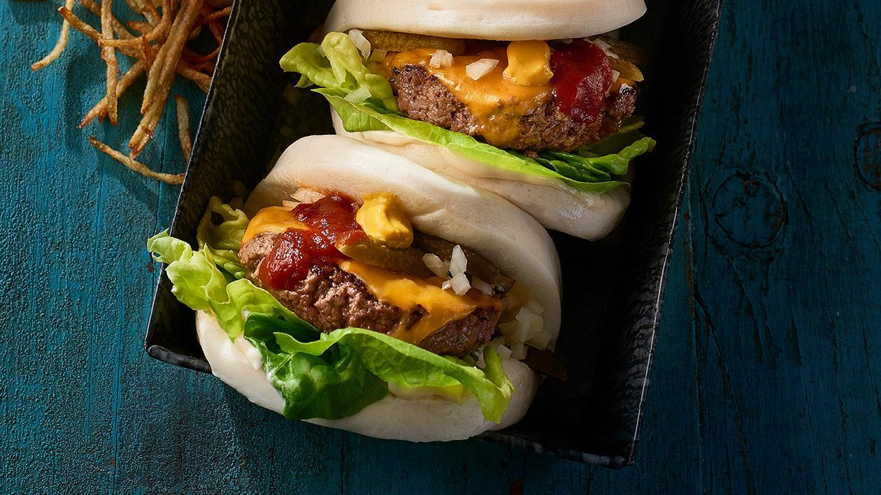 Cheese Burger Bao – Recipe