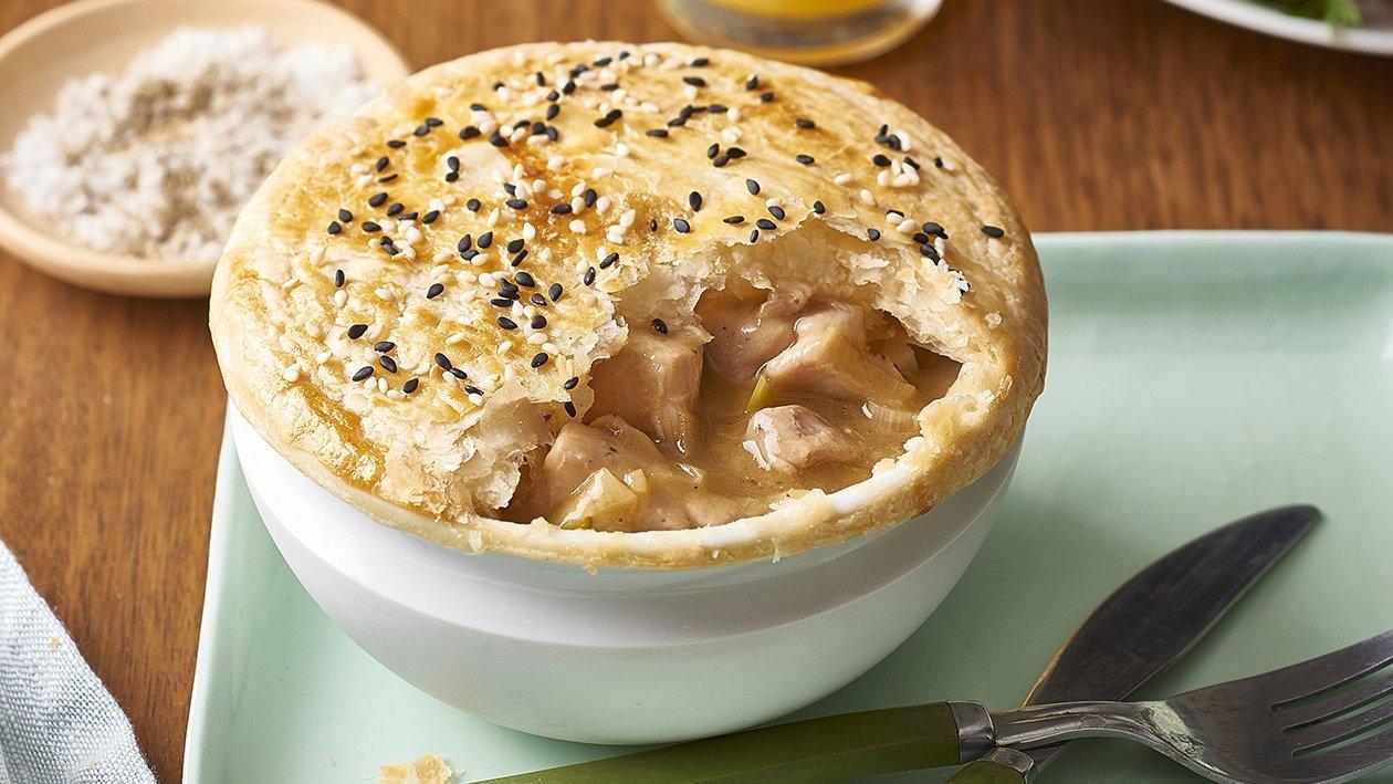 Chicken and Leek Pie – Recipe