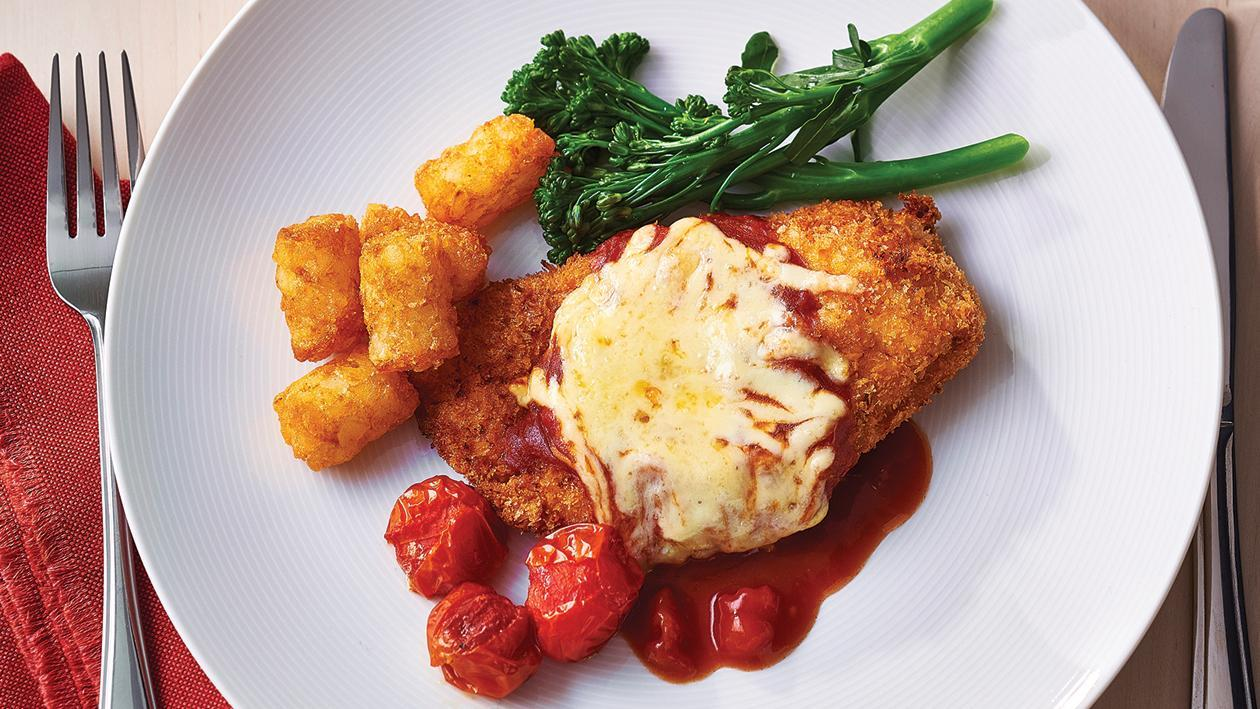 Chicken Parmigiana with Tuscan Gravy – Recipe