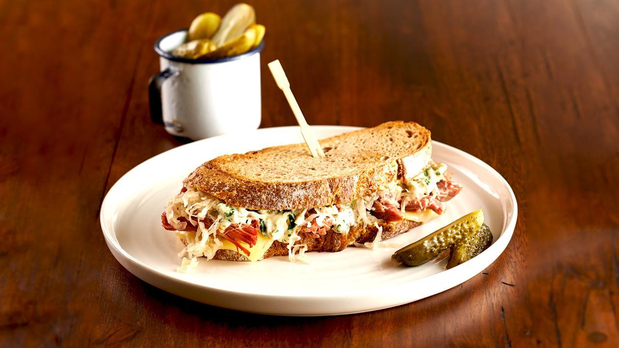 Classic New York Reuben – Recipe