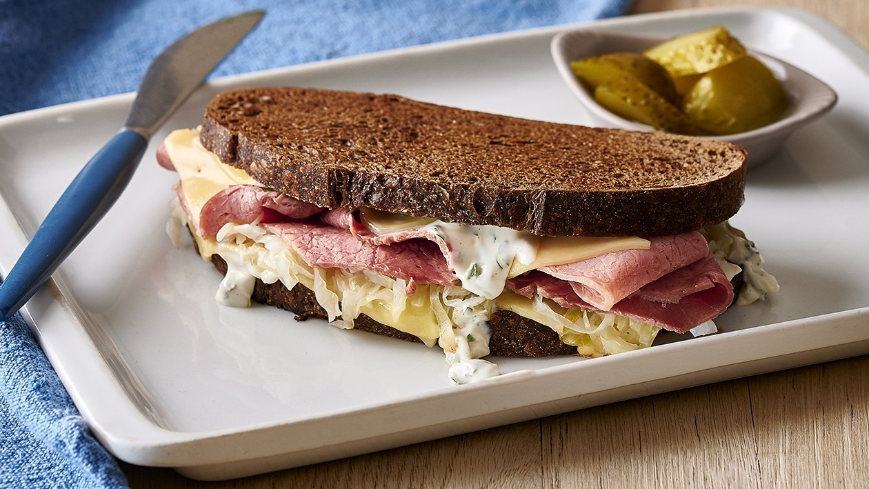 Corned Beef Reuben Sandwich – Recipe