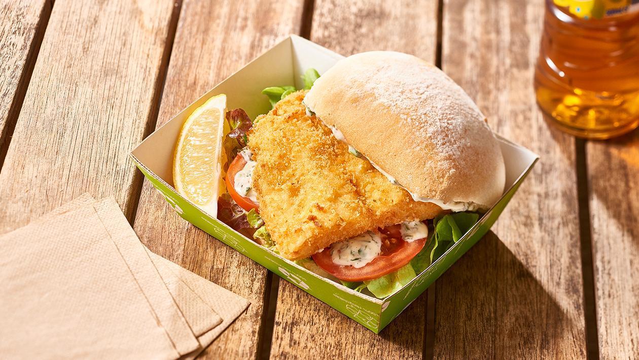 Crispy Fish Burger, Dill Tartare – Recipe