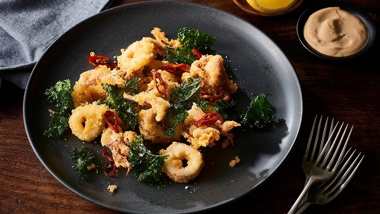 Crispy Fried Squid – Recipe
