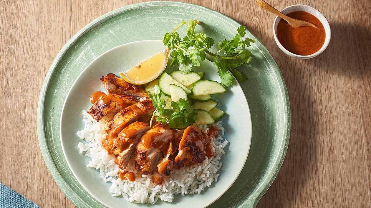 Lemon Chicken Tandoori – Recipe