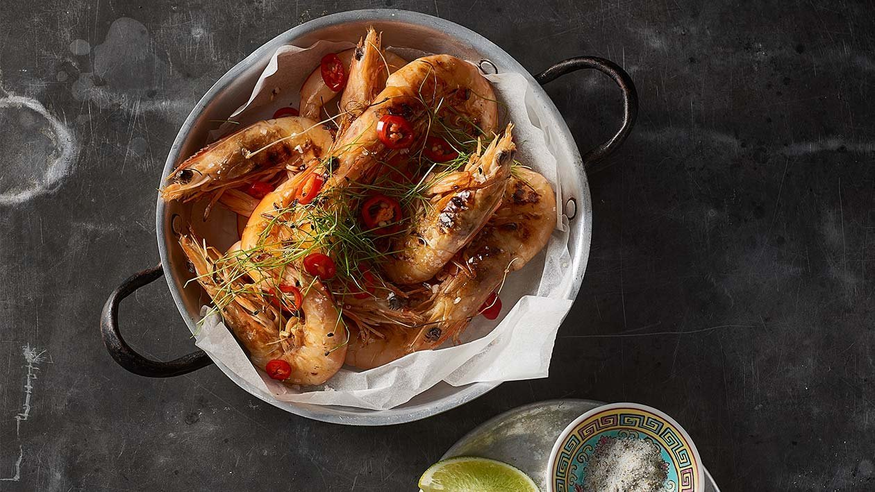 Lemon Pepper Prawns – Recipe