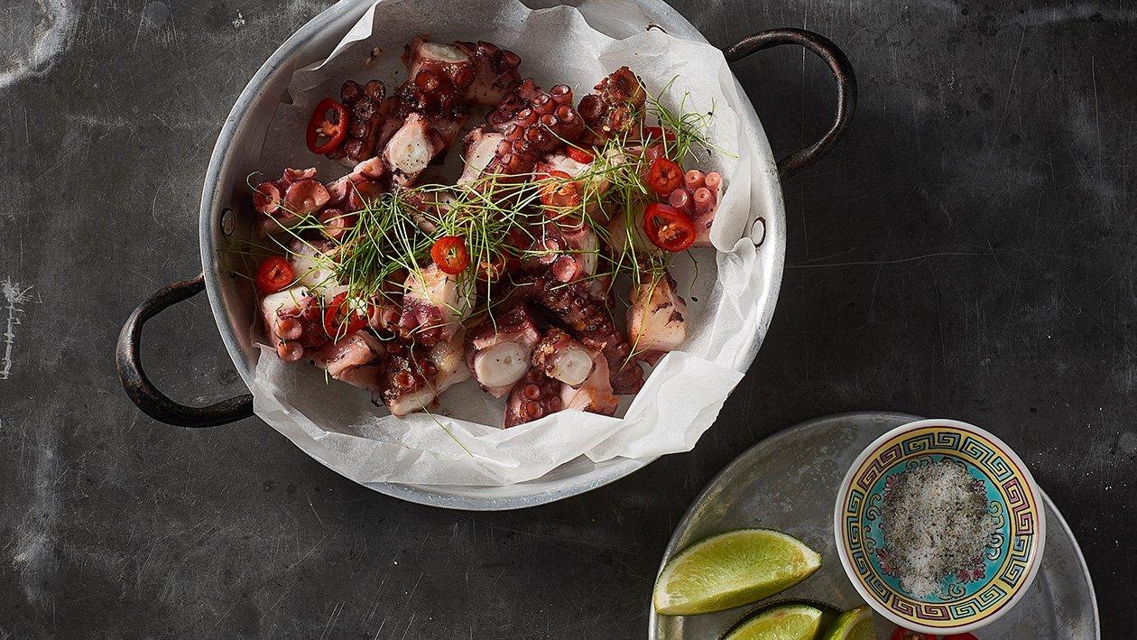 Lime Pepper Squid – Recipe