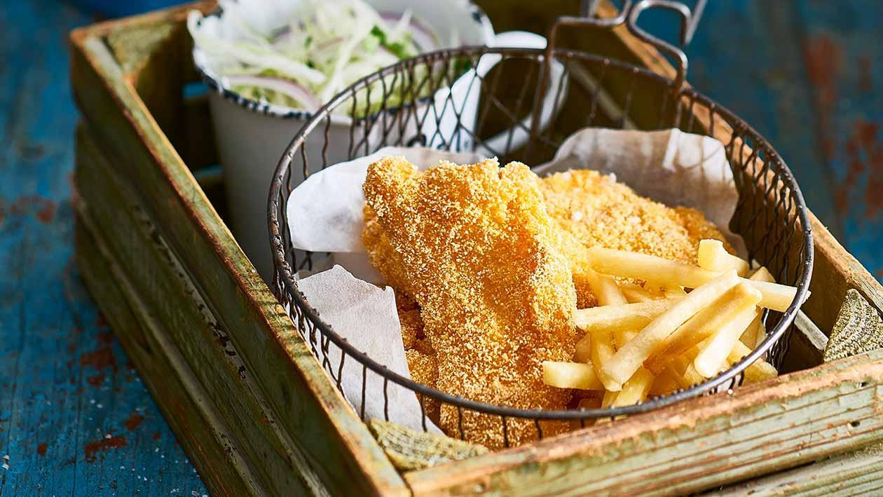 Louisiana Fish and Fries – Recipe
