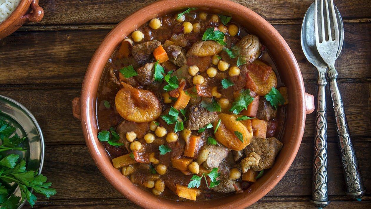 Moroccan Lamb Tagine – Recipe