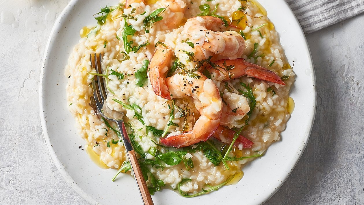 Ocean Fresh Risotto – Recipe