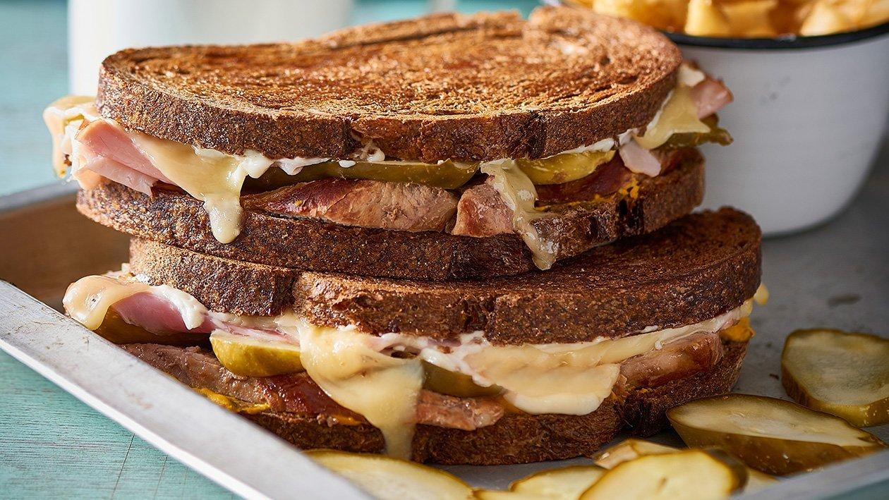 Pork and Pickle Cuban Reuben – Recipe