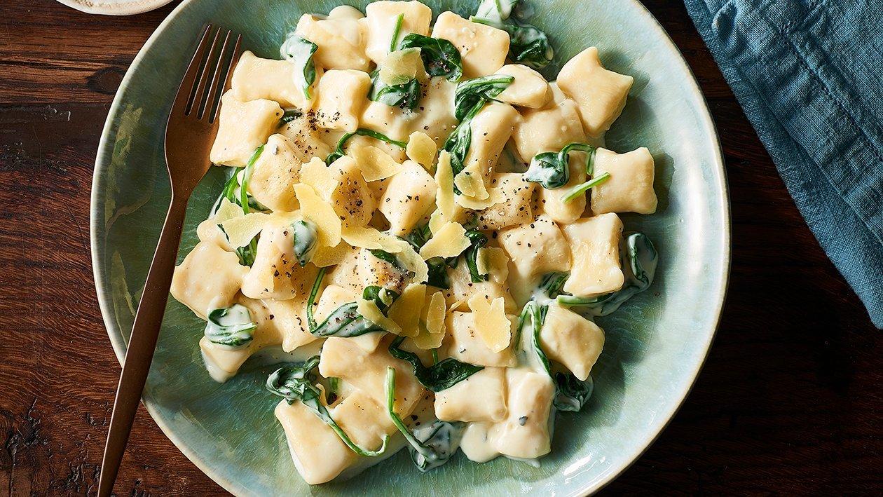 Potato Gnocchi, Blue Cheese Sauce – Recipe