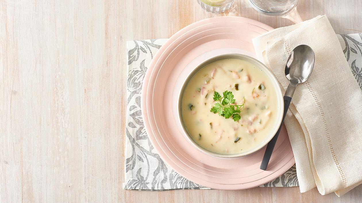 Potato, Leek and Bacon Soup – Recipe