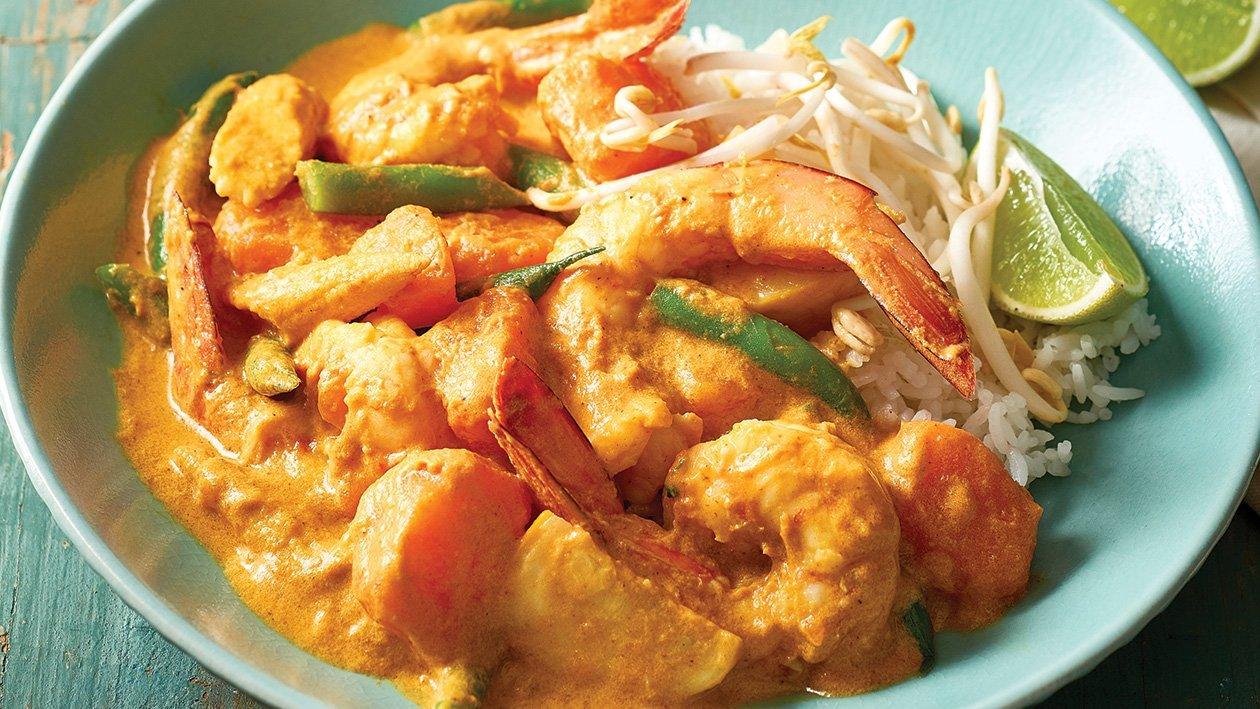 Prawn and Sweet Potato Yellow Curry – Recipe