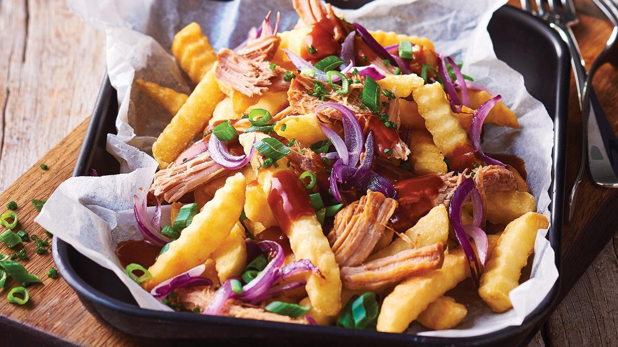 Pulled Pork Loaded Fries – Recipe