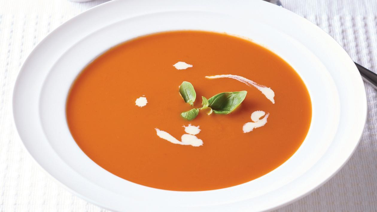 Rich & Creamy Tomato & Basil Soup – Recipe