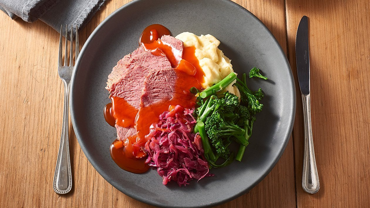 Rotkohl and Silverside – Recipe