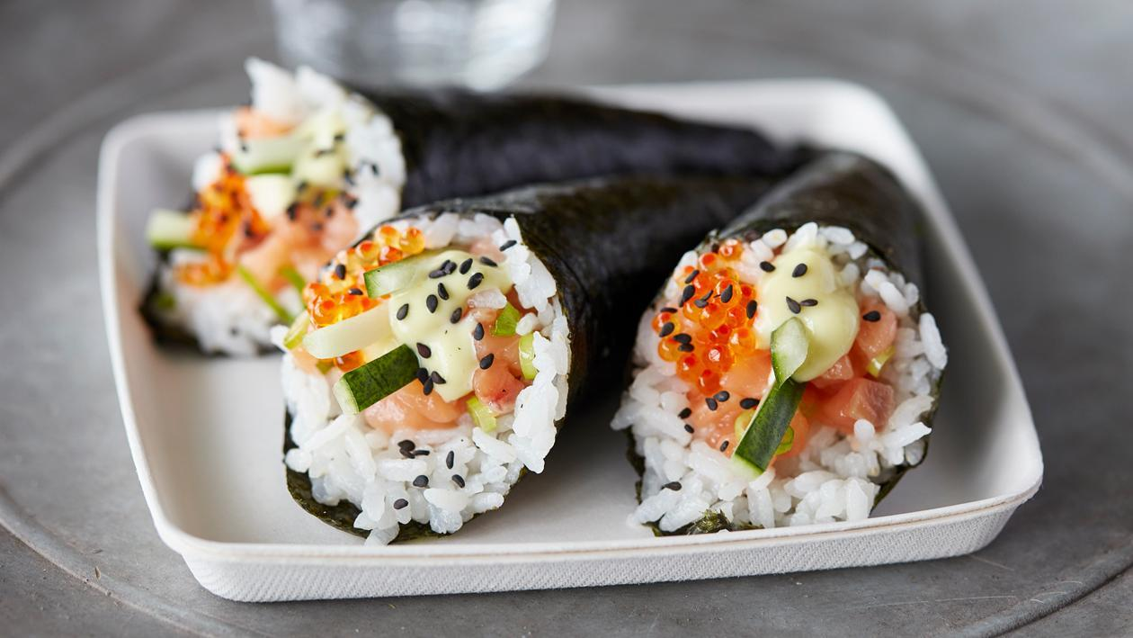 Salmon Temaki Cone – Recipe