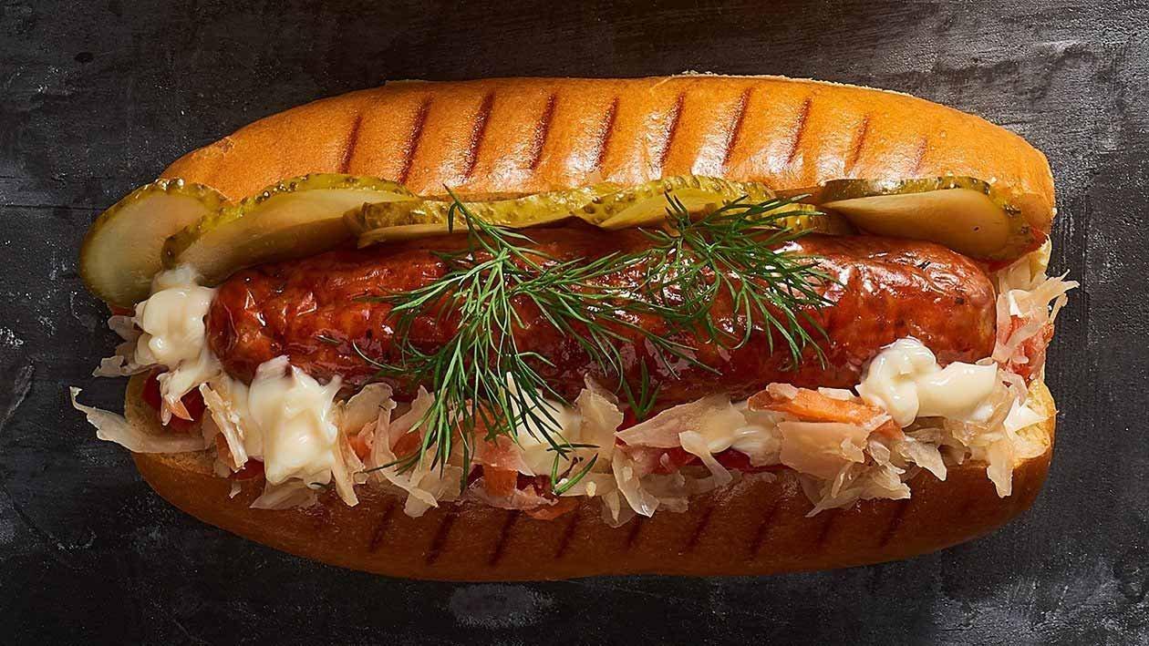 Sauerkraut Hotdog – Recipe