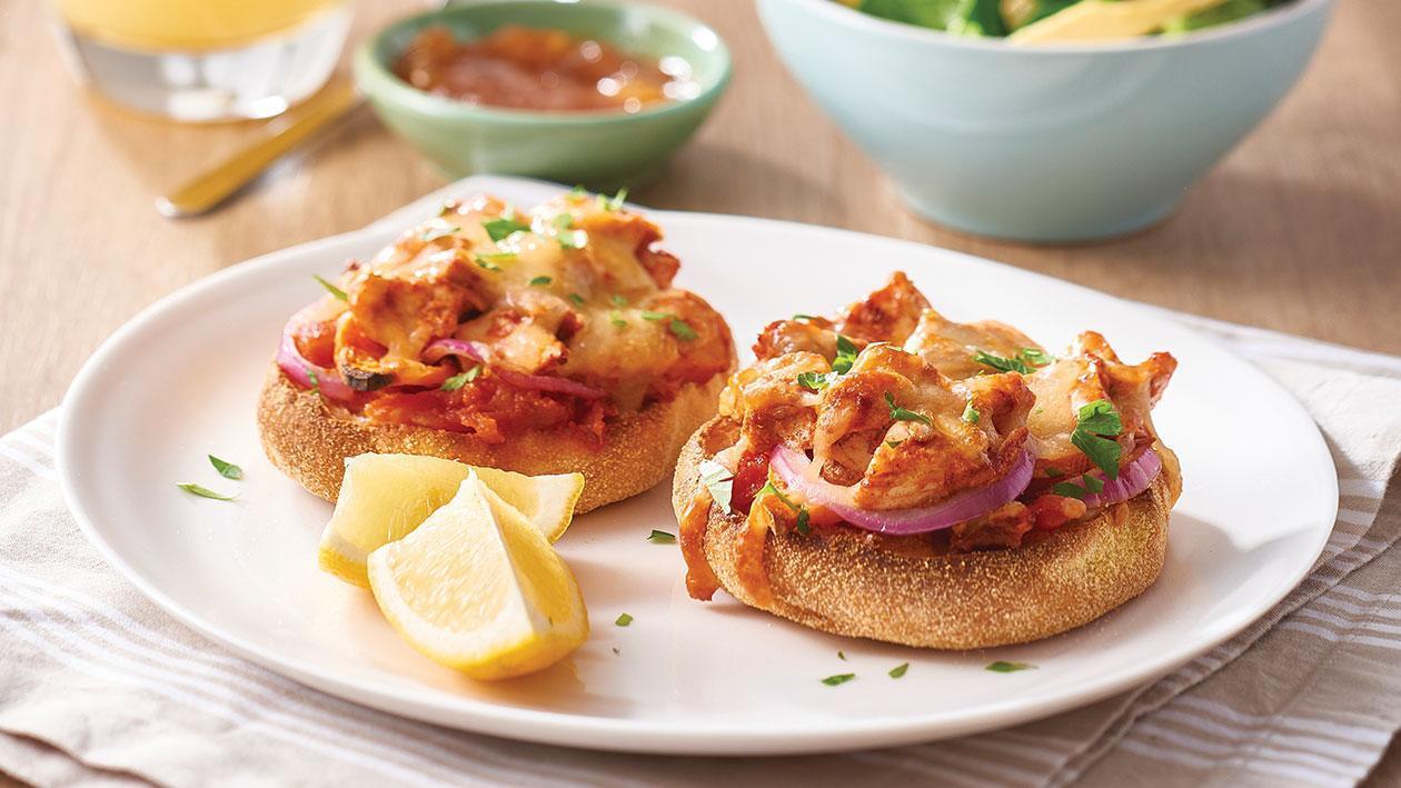 Tandoori chicken and sweet potato pizzas – Recipe