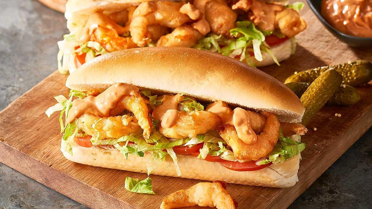 Tempura Shrimp po'Boy – Recipe