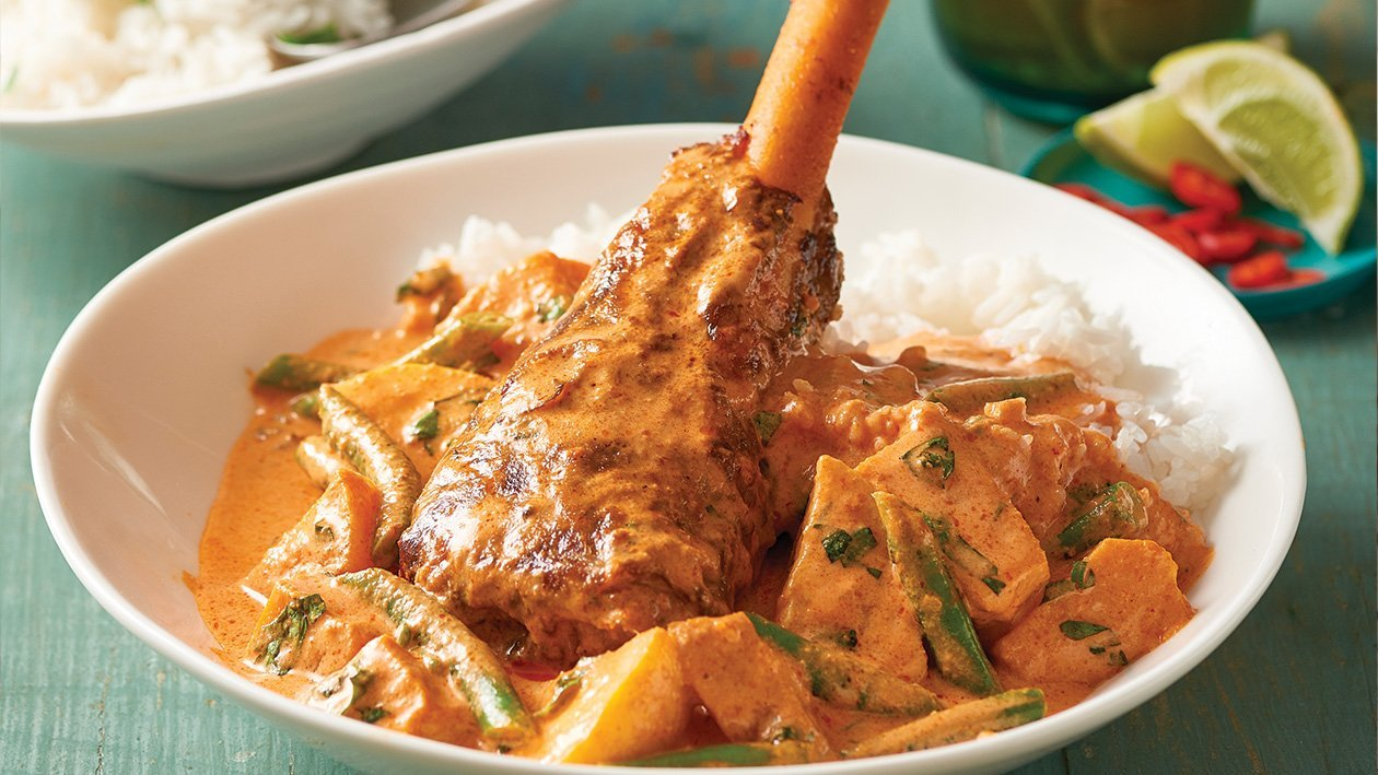 Thai Red Curry Lamb Shanks – Recipe