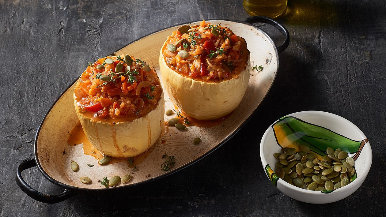 Tuscan Spaghetti Squash – Recipe