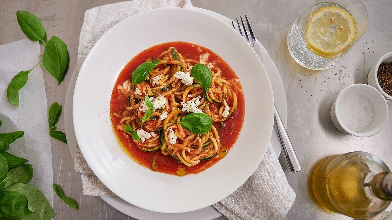 Zucchini Pasta Napoli – Recipe